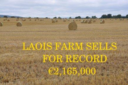 Laois Farm Sells for Record Price