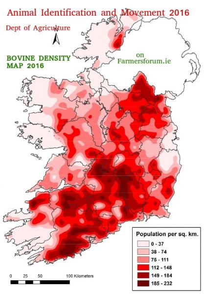 Bovine Intensity Map