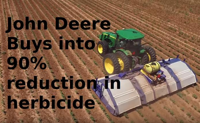 The Future is 90% Less Herbicide usage