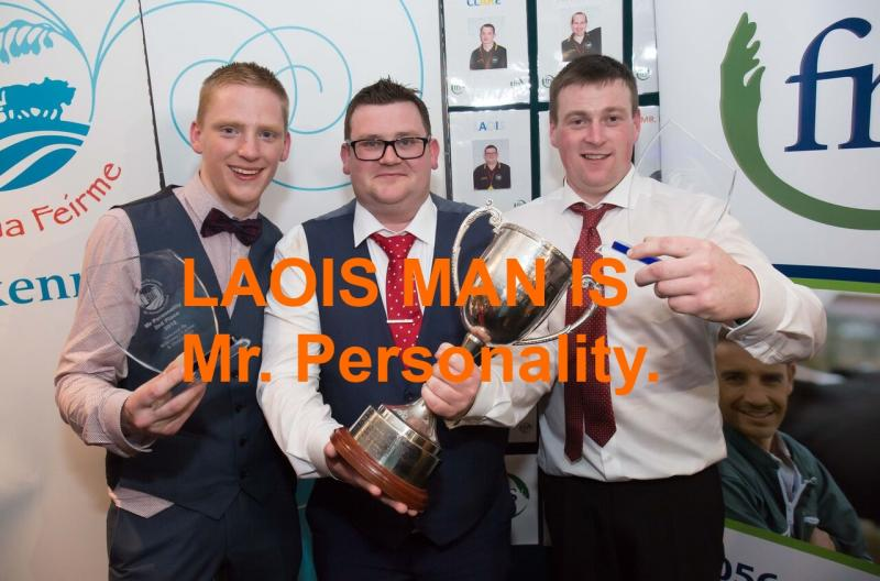 Laois Man is this years Mr Personality