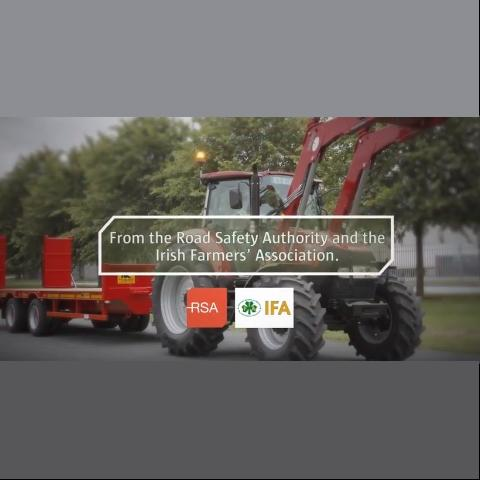 If you are travelling behind farm machinery, please be patient,