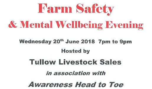 Farm Safety and Mental Awareness event at Tullow Mart