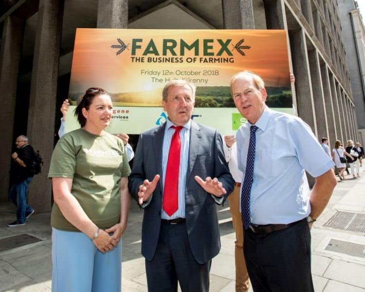 Minister Creed Launches New Farmex Show at Agriculture House