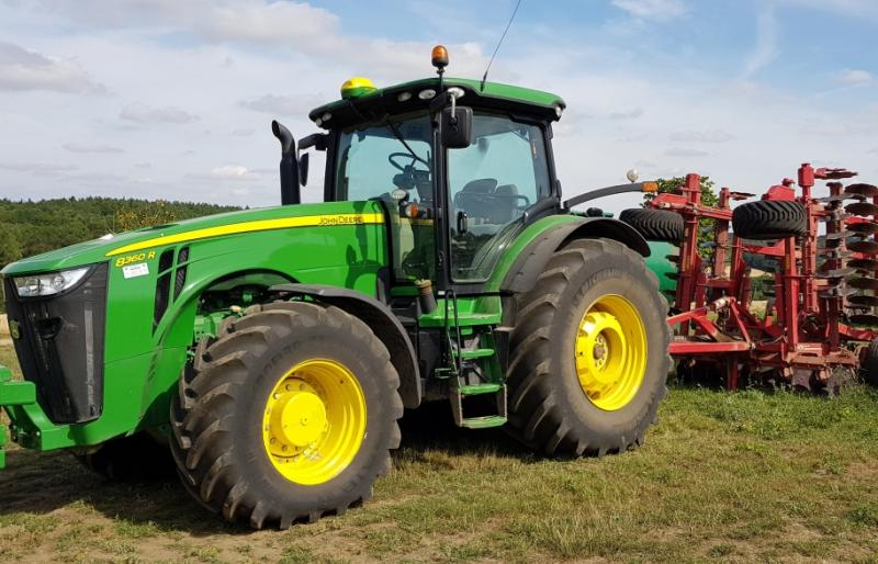 MICHELIN TYRES PERFORM ON ABRASIVE SOIL FOR KENSHAM FARMS