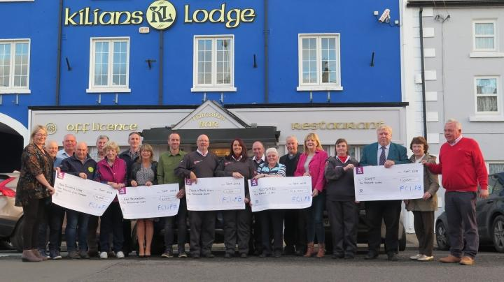 FCI Charity BBQ presents €12,000 in funding to worthy charities