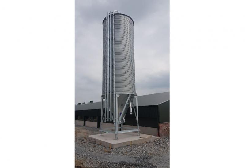 McAree Engineering to Launch 50 Ton V-Mac Silo at Balmoral Show